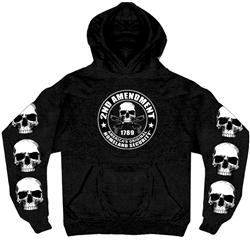 Men's 2nd Amendment Hooded Sweat Shirt