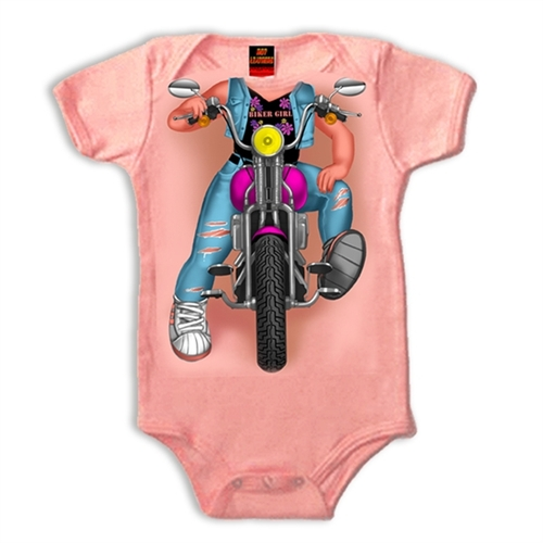 Motorcycle Baby Clothes Infant Girl Biker Body Body Outfit