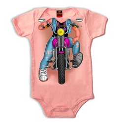 Baby Motorcycle Clothes: Girls Biker Body