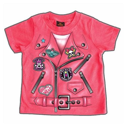 e7645a65f Kids Biker Clothes - Girl's Jacket T-Shirt - Leather Bound Online