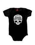 Baby Boy Protected By Biker Grandpa BodySuit