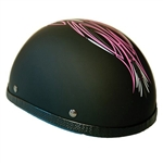 Women's Motorcycle Helmets: Novelty Pink Tribal