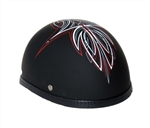 Novelty Motorcycle Helmet - Red Perewitz