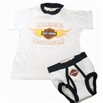 Harley-Davidson Toddler Boy T-Shirt & Underwear Set