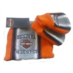 Harley-Davidson Knit Infant Winter Hat & Mittens