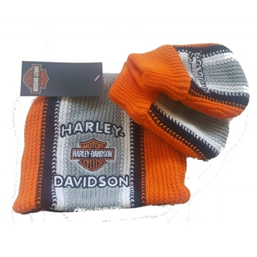 81891114bb4 Harley-Davidson Infant Winter Hat   Mittens