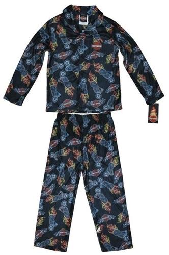 Kids Harley Davidson Apparel Boys Pajama Set Leather