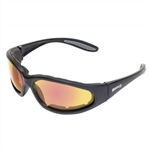 Photochromatic Motorcycle Glasses: Red G-Tech