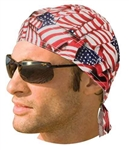 American Flag Biker Head-wrap