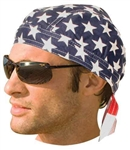 USA Flag Biker Head-wrap