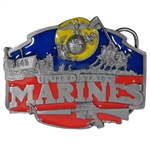 Us Marines Belt Buckles