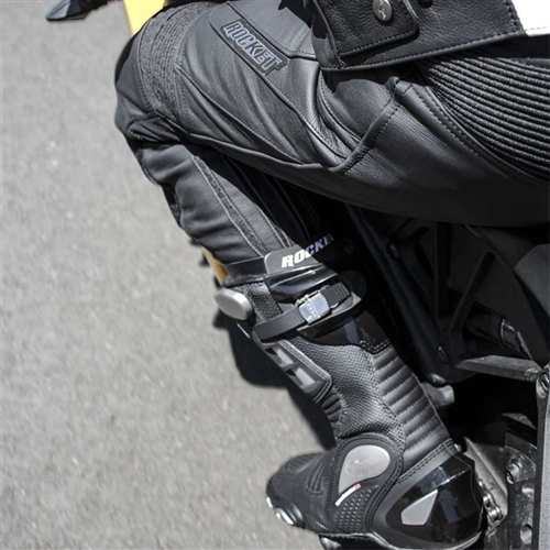 Joe Rocket Leather Motorcycle Racing Pants With Armor