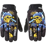 Joe Rocket: Artime Joe Skull Motorcycle Gloves