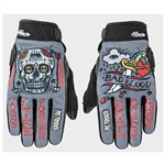 Joe Rocket: Artime Joe Bad Blood Textile Motorcycle Gloves