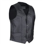 Kids Motorcycle Vest: Boys Leather Biker Vests