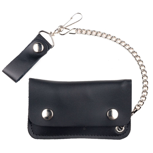 Kids Leather Chain Wallet American Made Biker Style Wow 7 99