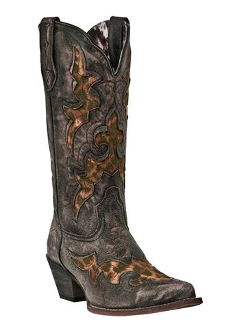 Women's Laredo Leopard Western Boots 15