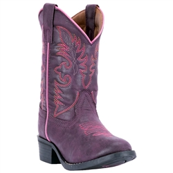 Girls Purple Western Boots (Laredo)