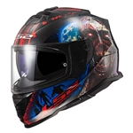 LS2 Rapid Full Face Motorcycle Helmet: Happy Dreams