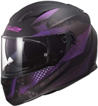 LS2 Ladies Full Face Motorcycle Helmet: Lux Stream