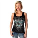Women's Biker T-Shirts: Route 66 Tank Top