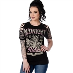 Midnight Dirge Motorcycle Top by Liberty Wear