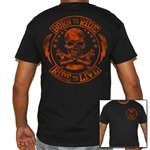 Men's Biker T-Shirts: Blood, Born to Ride