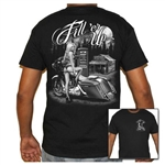 Men's Biker T-Shirts: Motorcycle Babe