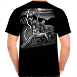 Men's Biker T-Shirts: Motorcycle Iron Soul