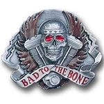 Biker Belt Buckles: Bad 2 the bone