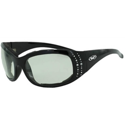 Women's Transitional Motorcycle Glasses - Padded