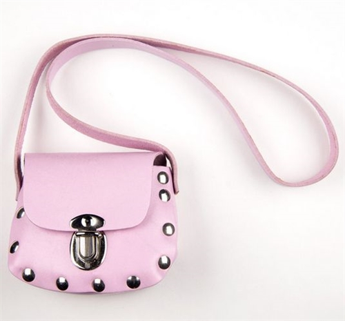 05a590c00d Biker Little Girls Pink Leather Purse - Leather Bound Online