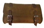 Genuine Leather Brown Motorcycle Tool Bag