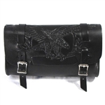 Flying USA Eagle Leather Motorcycle Tool Bag