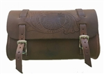 Leather Brown Motorcycle Tool Bags: Eagle