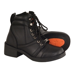 Kids Milwaukee Leather Motorcycle Boots