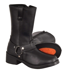 Kids Motorcycle Harness Boots, Milwaukee Performance