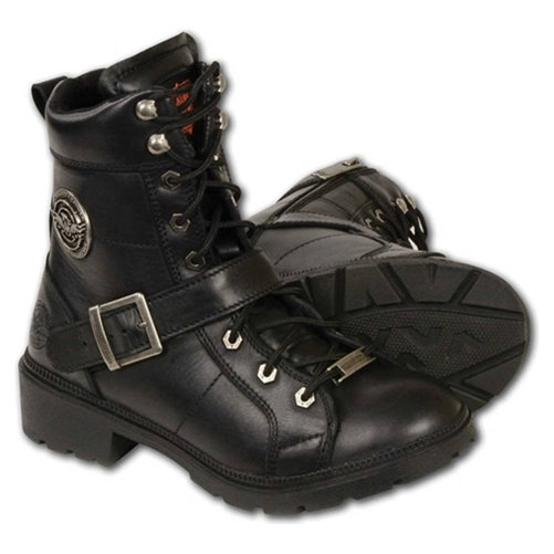 9ba9cd23ce4 Milwaukee Leather Women's Motorcycle Boots