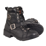 Milwaukee Leather Womens Waterproof Motorcycle Boots