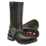Milwaukee Leather Ladies Harness Motorcycle Boots