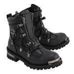 Ladies Milwaukee Leather Motorcycle Boots, MBL9375