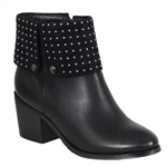 Milwaukee Biker Boots: Ladies Studded
