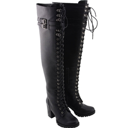 Milwaukee Ladies Ultra Tall Lace-Up Boots