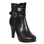 Milwaukee High-Heel Biker Boots