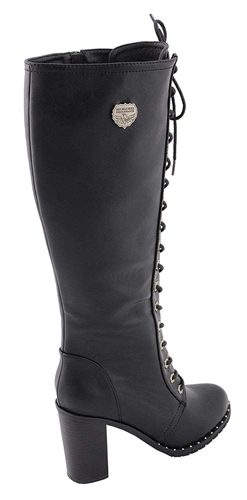 584e94a5402 Milwaukee Women's Tall Lace-Up Boots