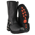 Milwaukee Leather Harness Motorcycle Boots