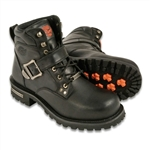 Milwaukee Leather Men's Motorcycle Boots: Wide Width