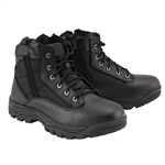 Milwaukee Leather Tactical Short Motorcycle Boots