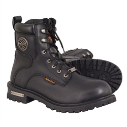 Milwaukee Leather Waterproof Motorcycle Boots
