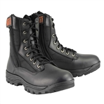Milwaukee Leather Tactical Motorcycle Boots